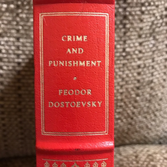 Crime and Punishment, hardcover book